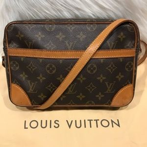 Authentic Louis Vuitton Trocadero Cross Body #6.0F